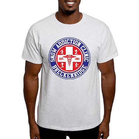Breckenridge Snow Addiction Clinic Light T-Shirt