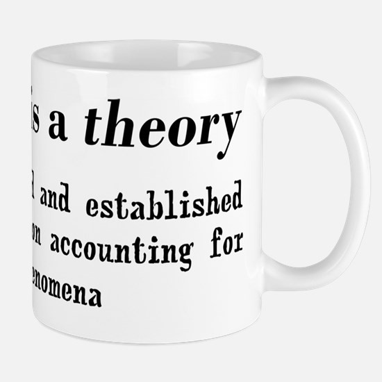Evolution Definition of Theory Mug
