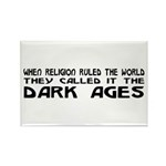 They Called It The Dark Ages Rectangle Magnet (10