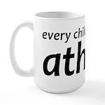 Children Are Born Atheists Large Mug