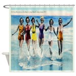 Long Island Bathing Beauties Shower Curtain