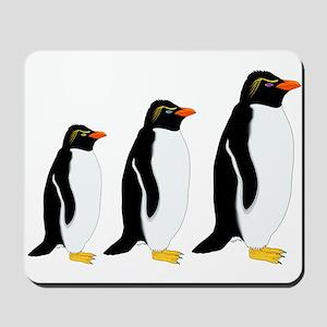 Penguin Parade Mousepad