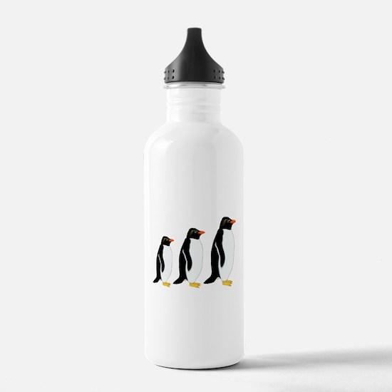 Penguin Parade Water Bottle