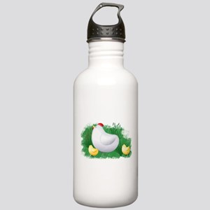 Momma Hen and Chicks Stainless Water Bottle 1.0L