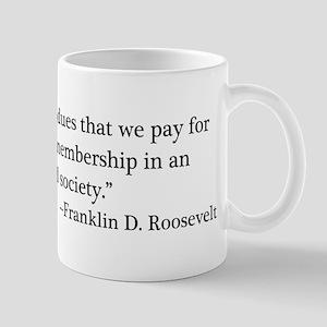 Taxes - FDR Mug