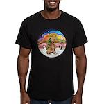 XMusic2 - Golden (#3) Men's Fitted T-Shirt (dark)