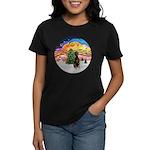 XMusic2 - Doberman (Nat) Women's Dark T-Shirt