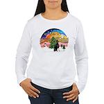 XMusic2 - Doberman (cr) Women's Long Sleeve T-Shir