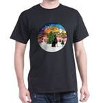 XMusic2 - Doberman (cr) Dark T-Shirt