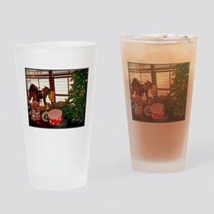 Home for the Holidays Drinking Glass