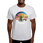 XMusic2 - Dandi Dinmont (slv) Light T-Shirt