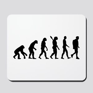 Hiking evolution Mousepad