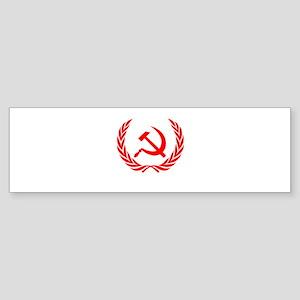 Soviet Wreath Red Sticker (Bumper)