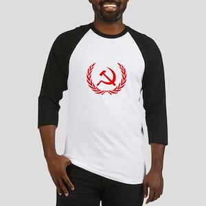 Soviet Wreath Red Baseball Jersey