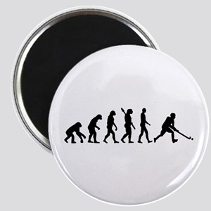 Field hockey evolution Magnet