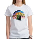 XMusic2 - Brussels (blk) Women's T-Shirt