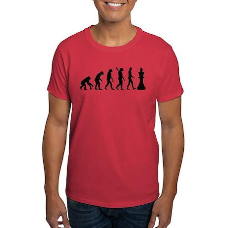 Chess king evolution Dark T-Shirt