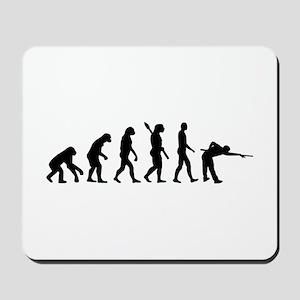 Pool billards evolution Mousepad