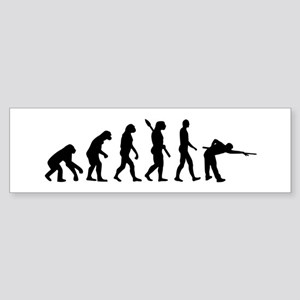 Pool billards evolution Sticker (Bumper)