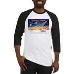 XSunrise-Clumber Spaniel Baseball Jersey