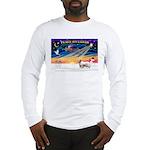 XSunrise-Clumber Spaniel Long Sleeve T-Shirt