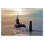 USS DANIEL WEBSTER Large Poster