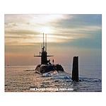 USS DANIEL WEBSTER Small Poster