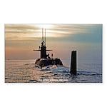USS DANIEL WEBSTER Sticker (Rectangle)