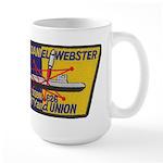 USS DANIEL WEBSTER Large Mug