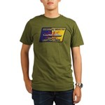 USS DANIEL WEBSTER Organic Men's T-Shirt (dark)