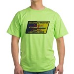 USS DANIEL WEBSTER Green T-Shirt