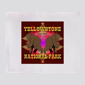 Yellowstone National Park Grizzly Bears Stadium B