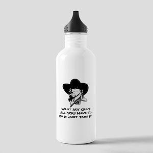 Want My Gun? Take It! Stainless Water Bottle 1.0L