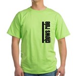 Chows Rule Chow Chow Green T-Shirt