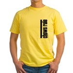 Chows Rule Chow Chow Yellow T-Shirt