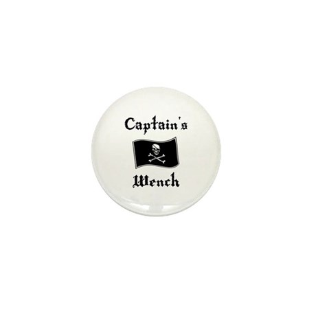 Captain's Wench Mini Button