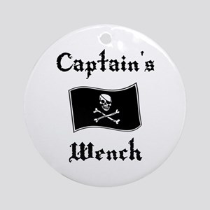 Captain's Wench Ornament (Round)