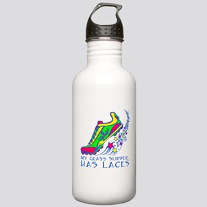 Running Shoe Stainless Water Bottle 1.0L