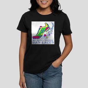 Running Shoe Women's Dark T-Shirt