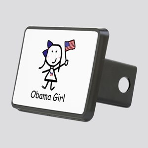Democrat - Obama Girl Rectangular Hitch Cover