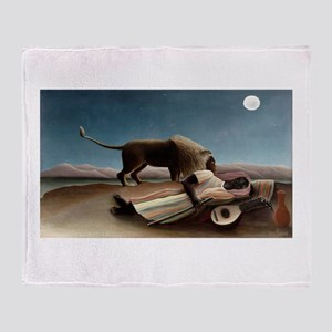 henri rousseau Throw Blanket