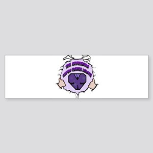 The Super Hero Lupus Fighter League Sticker (Bumpe