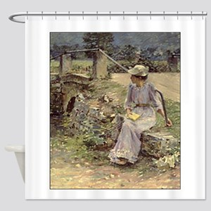 theodore robinson Shower Curtain