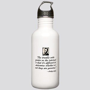 Lincoln Quote Stainless Water Bottle 1.0L