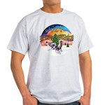 XMusic2 - Two HL Cresteds Light T-Shirt