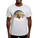 XMusic2 - HL Crested #1 Light T-Shirt
