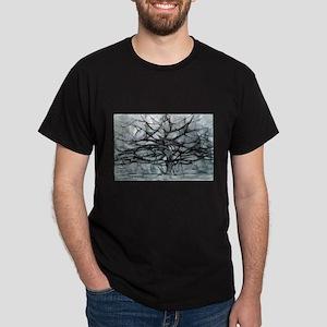 mondrian Dark T-Shirt