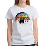 XMusic2-Puff Crested (BT) Women's T-Shirt