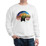 XMusic2-Puff Crested (BT) Sweatshirt