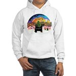 XMusic2-Puff Crested (BT) Hooded Sweatshirt